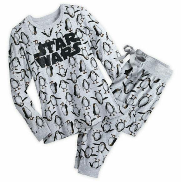 ef933b1fa8 Star Wars Porg Pajama Set Size Medium